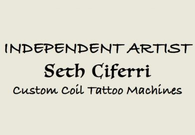 Seth Ciferri Tattoo Machines - custom professional 8 wrap coil - TMA